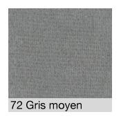 Coton Gratté  GRIS MOYEN 72 pour habillage scènique M1