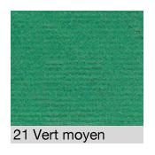 Coton Gratté  VERT 21 pour habillage scènique M1