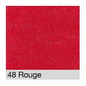 Coton Gratté  ROUGE 48 pour habillage scènique M1