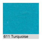 Coton Gratté  TURQUOISE 611 pour habillage scènique M1