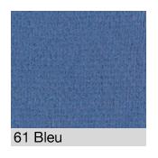 Coton Gratté  BLEU 61 pour habillage scènique M1