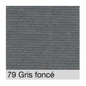 Coton Gratté  GRIS FONCE 79 pour habillage scènique M1
