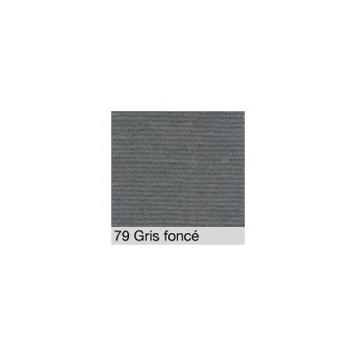 DISTRI SCENES - Coton Gratté GRIS FONCE 79 pour habillage scènique