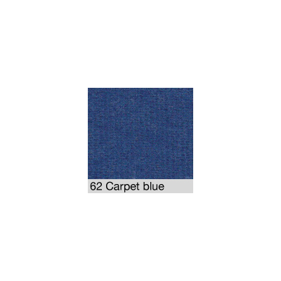 DISTRI SCENES - Coton Gratté CARPET BLUE 62 pour habillage scènique