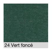 Coton Gratté  VERT FONCE 24 pour habillage scènique M1