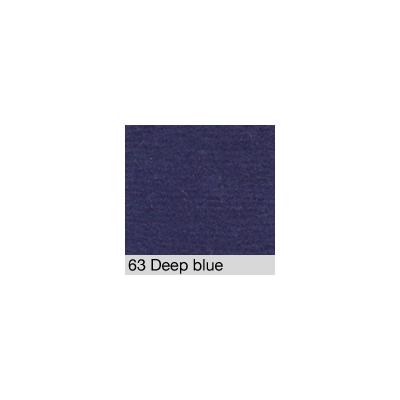 DISTRI SCENES - Coton Gratté DEEP BLUE 63 pour habillage scènique
