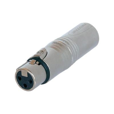 Adaptateur XLR 3 poles Femelle / XLR 5 poles Mâle