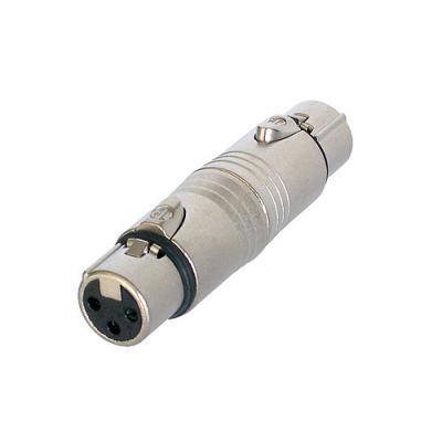 Adaptateur XLR 3 poles Femelle / XLR 3 poles Femelle Format connecteur