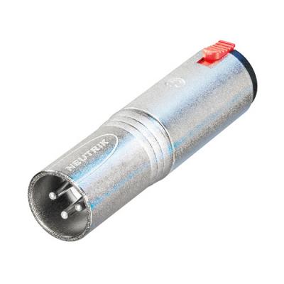 Adaptateur XLR 3 poles Mâle / Jack 6,35 stéréo Femelle Format connecteur