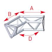 Angle 2 départs 120° lg 0m25 x 0m25 - ASD1524