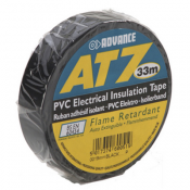 Ruban Adhésif isolant PVC NOIR 19 mm x 33 m - AT0719