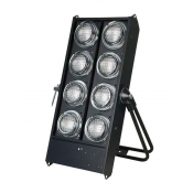 STAGE BLINDER 8 DMX NOIR