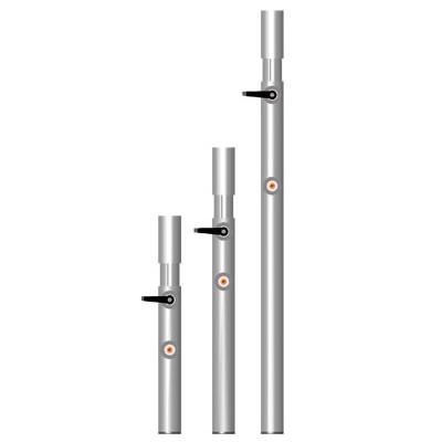 Pied télescopique praticable de de 1,00 m à 1,40 m