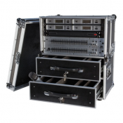 Flight case pour Micros HF 2