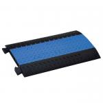 Passage de Câble 5 Canaux bleu pour 85305SET Rampe pour Chaises Roulantes