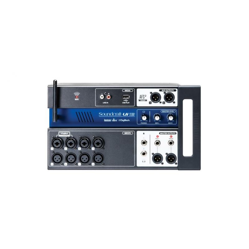 Soundcraft console num rique 12 voies ui12 console de mixage - Console de mixage numerique ...
