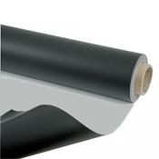 Tapis de danse réversible PVC Noir/Gris épaisseur 1,5 mm Largeur de 2M Longueur au choix