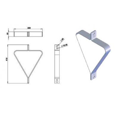 Structure Tri 290 ASD - 57SP325PB / Suspension pour SD250 / SX
