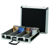 200 CD CASE TROLLEY BLACK